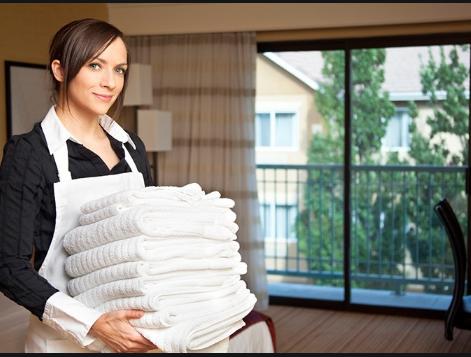 Kleidung für Housekeeping