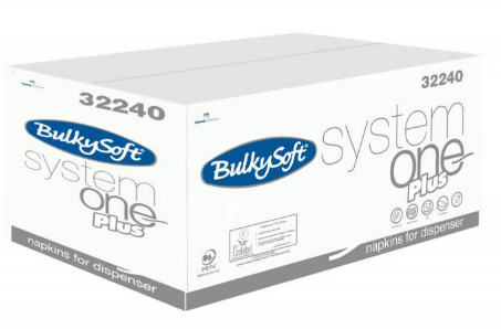 BulkySoft Servietten System One