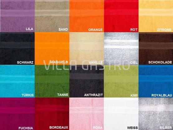 Badetuch Frottée Color Eco 100 x 150 cm