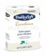 Toilettenpapier BulkySoft, 100% Zellstoff, 4-lagig, weiss