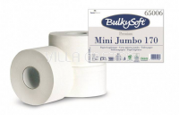 Toilettenpapier Mini Jumbo BulkySoft, 100% Zellstoff, 2-lagig weiss
