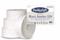 Toilettenpapier Maxi Jumbo BulkySoft, 100% Zellstoff, 2-lagig weiss