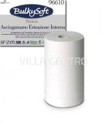 Midi-Reinigungsrolle BulkySoft, 100% Zellstoff, 2-lagig