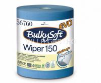 Maxi-Reinigungsrolle BulkySoft Blue Power, 100% Zellstoff 3-lagig