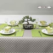 Carina-L - fleckabweisende Tischwäsche, Microbeschichtet