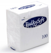 BulkySoft Table Top Servietten 100% Zellstoff, 2-lagig, 1/4-Falz