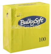 BulkySoft Table Top Servietten 100% Zellstoff, 2-lagig, 1/4-Falz, kiwi