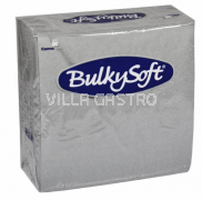BulkySoft Table Top Servietten 100% Zellstoff, 2-lagig, 1/4-Falz, grau