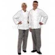 Kochjacke mit langem Arm 100% Baumwolle