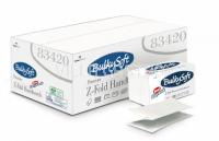 Papierhandtücher BulkySoft ZZ Easy-Pack, Z-Falz 100% Zellstoff, 2-lagig, weiss