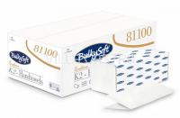 K2 Papierhandtücher, BulkySoft, V-Falz 100% Zellstoff 2-lagig, weiss