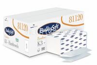 K3 Multifold Papierhandtücher, BulkySoft 100% Zellstoff 2-lagig, weiss