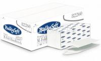 Papierhandtücher BulkySoft M-Ultra, M-Falz, 100% Zellstoff, 3-lagig, weiss