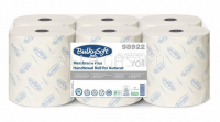 Papierhandtuchrolle BulkySoft Membrane plus, 100% Zellstoff, 3-lagig, weiss