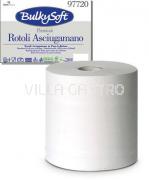 Papierhandtuchrolle BulkySoft, 100% Zellstoff, 2-lagig, weiss