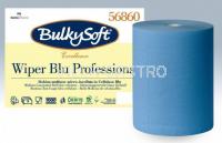 Maxi-Reinigungsrolle BulkySoft Blue Power 10,0% Zellstoff, 3-lagig