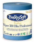 Jumbo-Reinigungsrolle BulkySoft Blue Power, 100% Zellstoff, 3-lagig