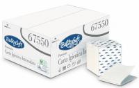 Einzelblatt-Toilettenpapier BulkySoft, 100% Zellstoff, 2-lagig