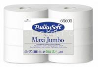Toilettenpapier Maxi Jumbo BulkySoft 100% Zellstoff, 2-lagig weiss