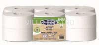 Toilettenpapier Mini Jumbo BulkySoft Comfort, Recycling de-inked 2-lagig, weiss