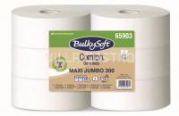 Toilettenpapier Maxi Jumbo BulkySoft Comfort, Recycling de-inked 2-lagig, weiss