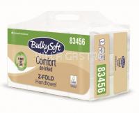 Papierhandtücher BulkySoft Comfort, Z-Falz, Recycling de-inked, 2-lagig, weiss