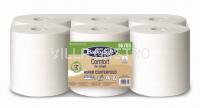 Reinigungsrolle BulkySoft Comfort Recycling de-inked Centerfeed, 2-lagig, weiss