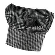 Kochhut Bistrostil mit Klettband verstellbar 100% Baumwolle