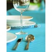 Fleckabweisende Karo-Tischwäsche - farbig