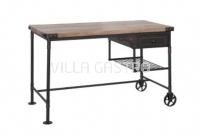 Pipe Schreibtisch mit 1 Schublade