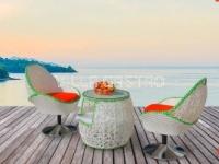 MONACO Rattan Lounge- und Bistro Set