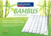 San Gottardo Bambus-Duvet