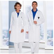 Laborkittel / Arztkittel aus Mischgewebe