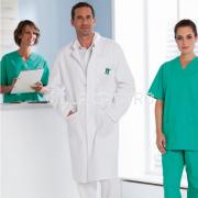 Arztkittel / Laborkittel aus Mischgewebe