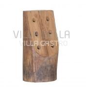 Flaschenhalter aus massivem Holz